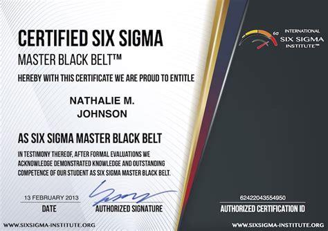 Lean Six Sigma Master Black Belt Resumes by What Is Usd 99 Certified Six Sigma Master Black Belt Cssmbb Certification Program