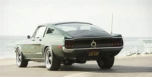 Bullitt 68 Mustang built for Steve McQueens Son | Cool Material