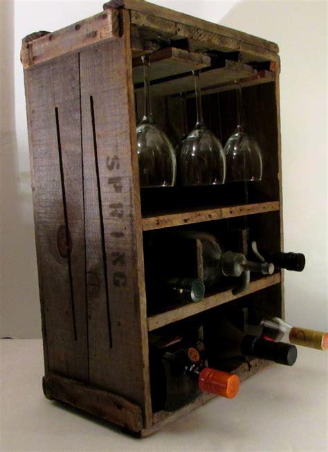 rustic wine rack rustic primitive wine rack wood box vintage new