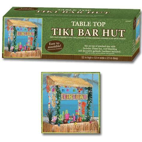 Tabletop Tiki Hut by Tiki Bar Hut Tiki Bars And Luau