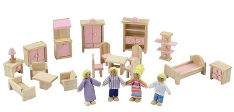 asda christmas toy list traditional wooden dolls house