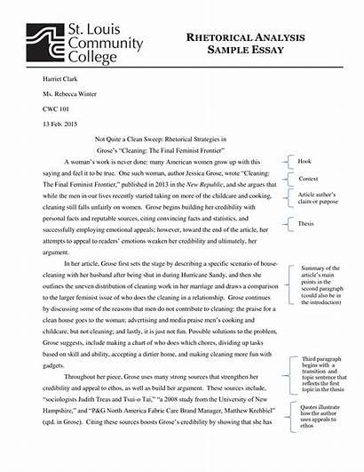 Rhetorical Essay Analysis Template Sample Write Allbusinesstemplates