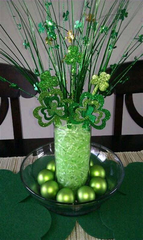 st patricks day table decor insipirations home