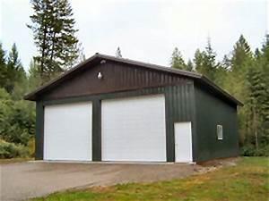 workshop steel buildings serving hayden coeur d39alene With 30x32 pole barn
