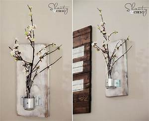 Modern diy wall decor with combination color
