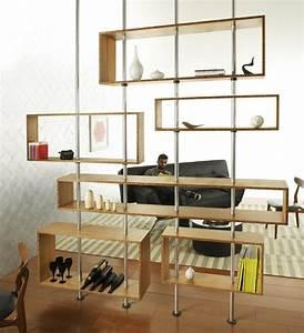 Separation Salon Chambre : charmant idee separation chambre salon 7 s233paration ~ Zukunftsfamilie.com Idées de Décoration