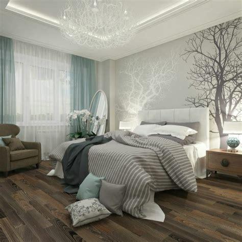 chambre a coucher avec papier peint 50 photos avec des idées pour poser du papier peint intissé