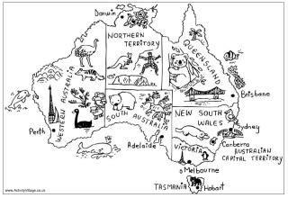 australia puzzles kids