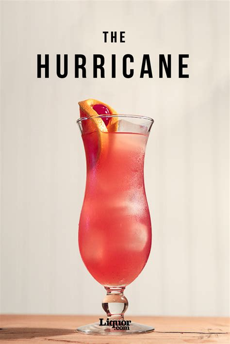 hurricane drink hurricane cocktail recipe
