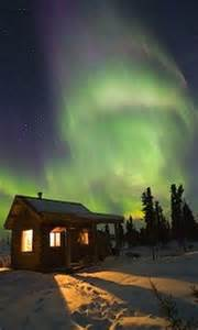 Fairbanks Alaska Northern Lights Cabin
