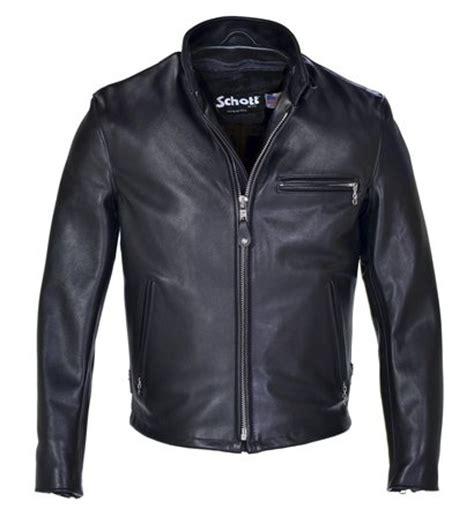 classic racer leather motorcycle jacket schott nyc