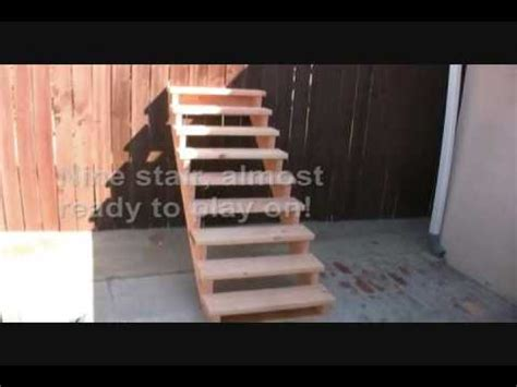 unicycle tutorial     stair set youtube