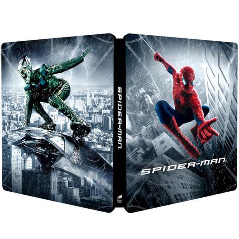 spider steelbook zavvi edition blu ray lenticular exclusive release raimi sam getting november