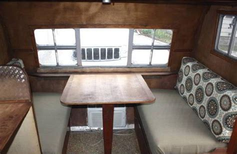 Motorhome Upholstery by Refurbish Aging Rv Dinette Cushions New Upholstery But No