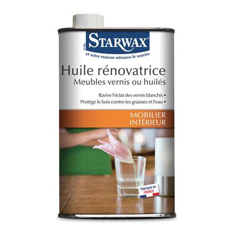 vernis pour table en bois huile r 233 novatrice pour meubles en bois vernis ou huil 233 s starwax produits d entretien maison