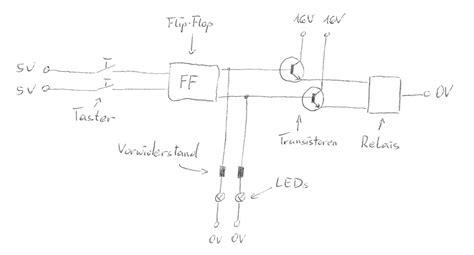 suche geeignetes flip flop fuer  relais