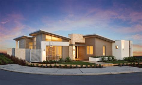 One Story Modern House Plans by Single Story Modern House Design Plans Contemporary Single