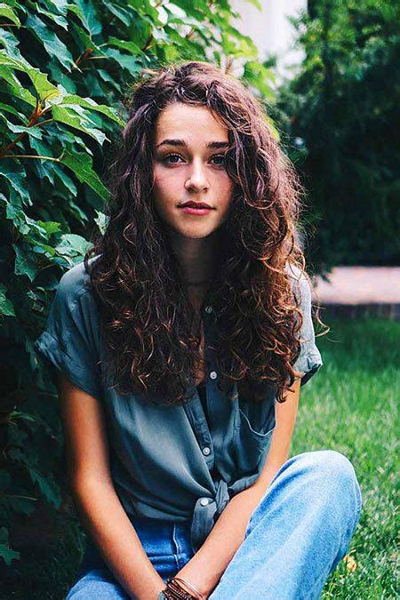 curly hairstyles  long hair hairstyles