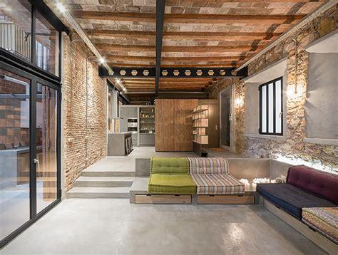 barcelona industrial loft