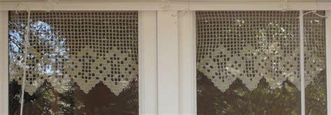 crochet rideaux napperon nappe ouvrage crochet d art fait