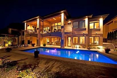 Pool Night Pools Swimming Villa Homes Naght