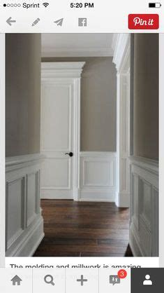empire flooring and molding grey walls with grey trim wainscoting in white space copenhagen private commission