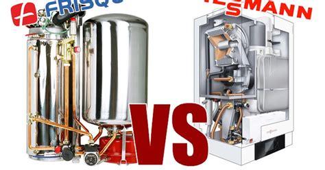 chaudiere gaz frisquet comparatif frisquet viessmann hydroconfort condensation visio versus vitodens 222 w