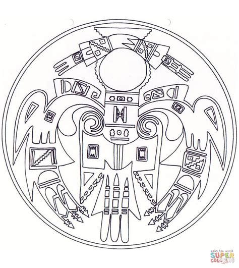 dream catcher coloring pages    print