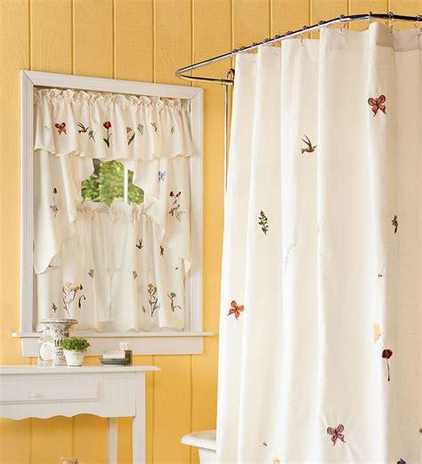 bathroom window curtains images  pinterest