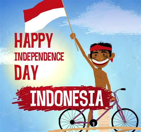 20 Beautiful Indonesia Independence Day 2016 Greeting Pictures