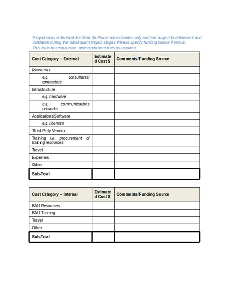 Project Management Manual Template by 8 Project Scope Templates Free Pdf Word Documents