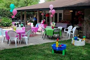 Backyard Birthday Party Decoration - Decorating Of Party