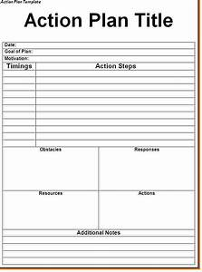 41 best templates of business action plan thogati With written action plan template