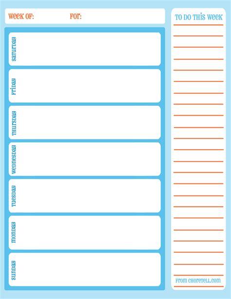 blank calendar template weekly calendar printable weekly calendar template