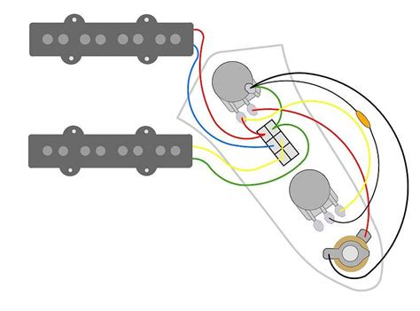 jazz bass wiring diagram request volume dpdt tone