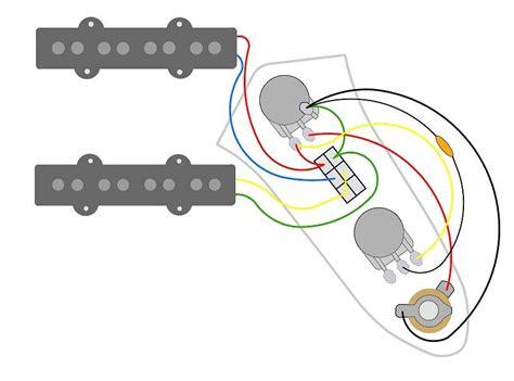 jazz bass wiring diagram request volume dpdt tone talkbass