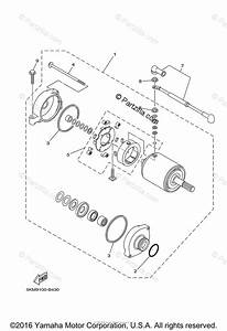 Yamaha Atv 2004 Oem Parts Diagram For Starting Motor