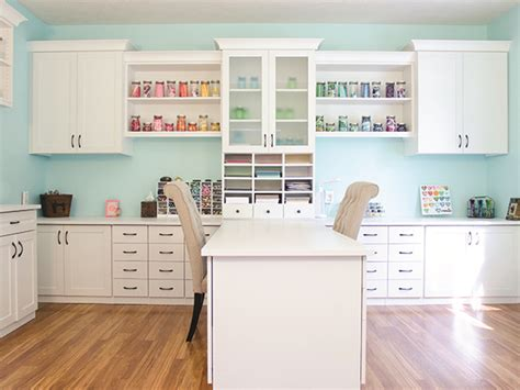 How To Organize Your Craft Room Storage With Closet