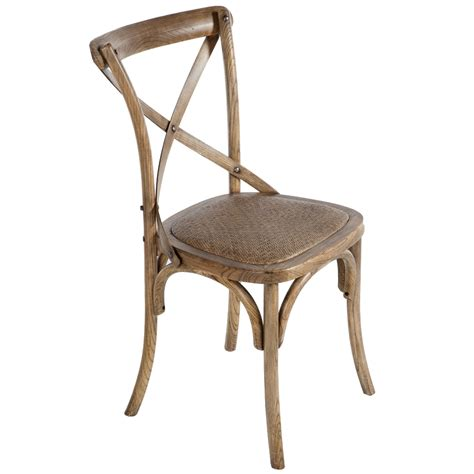 shabby chic weathered oak chair chairman hire