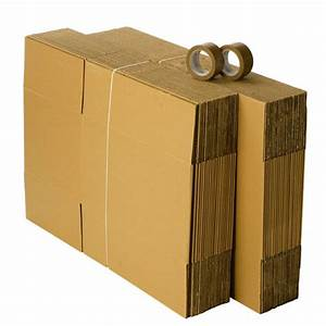 Cartons De Déménagement Gratuit : kit d m nagement 40 cartons avec 2 rouleaux adh sifs gratuits ~ Melissatoandfro.com Idées de Décoration