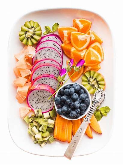 Probiotic Taking Plate Daily Fruit Healthy Routine