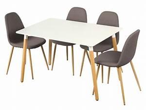 Table De Cuisine Grise : tables de cuisine rondes murales ou extensibles ~ Teatrodelosmanantiales.com Idées de Décoration