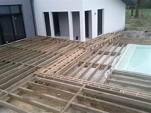 modele de terrasse en bois myqtocom With modele de terrasse en bois