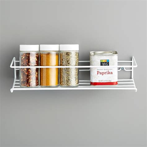 Single Spice Rack by White Single Wire Spice Rack The Container Store