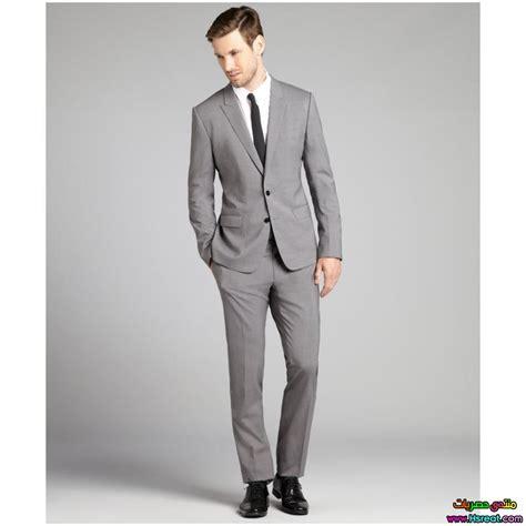 Light Grey Suit Wedding by بدل رجالى رمادي اجمل واحلى ملابس رجالي للشتاء