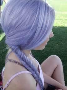 Lilac Pastel Purple Hair