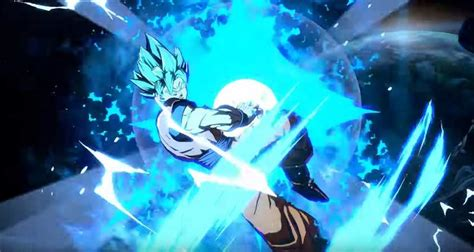 dragon ball fighterz trailer reveals super saiyan blue