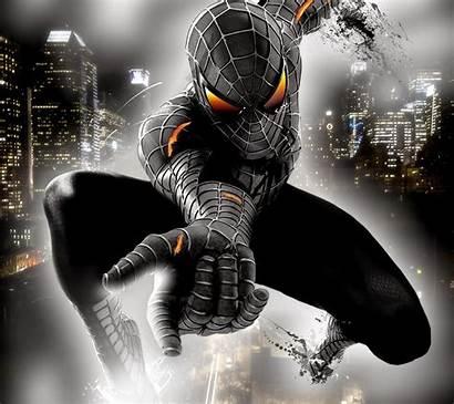 Spiderman Gambar Spider Animasi Parede Papel Aranha