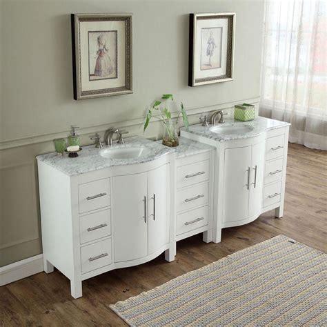 modern double bathroom vanity espresso   sink