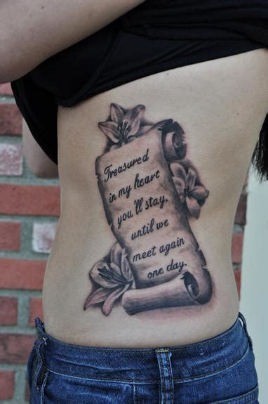 scroll tattoos designs ideas  meaning tattoos
